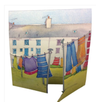 Washing Day Greetings Card