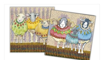 Sheep In Sweaters Mini Card Pack