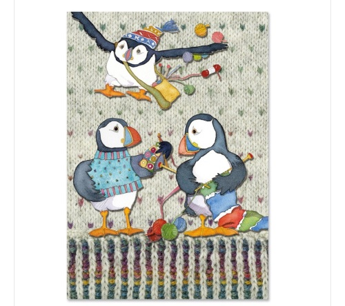 Woolly Puffin Project Book