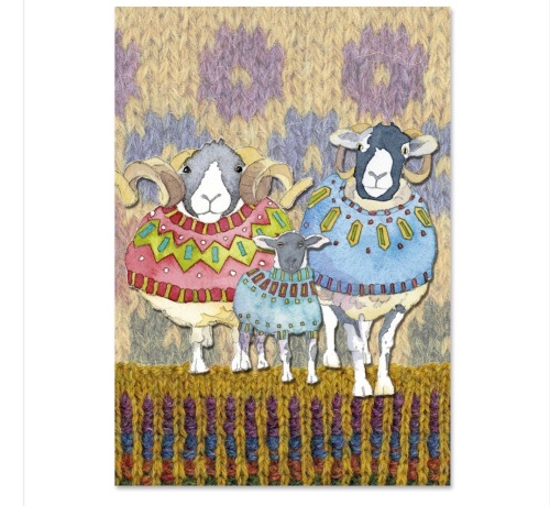 Woolly Sheep in Sweaters Project Book