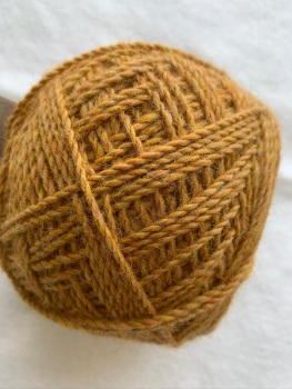 Mill Dyed light aran -  Oban - yellow