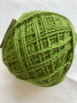 Mill Dyed light aran - Applecross - green