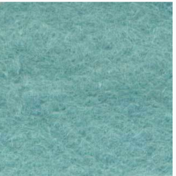 Medium sized Wool Felt piece  - soft turquoise