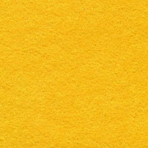 Medium sized Wool Felt piece  - golden yellow (a Lucy colour!!)
