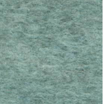 Medium sized Wool Felt piece  - turquoise marl
