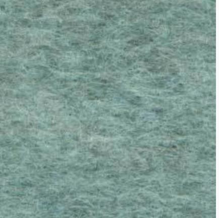 Medium sized Wool Felt piece  - turquoise marl
