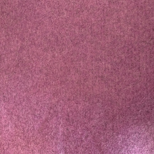Medium sized Wool Felt piece  - purple marl