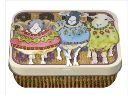 Woolly Sheep Mini Tin