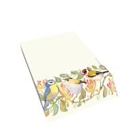 Garden Birds Slant Pad