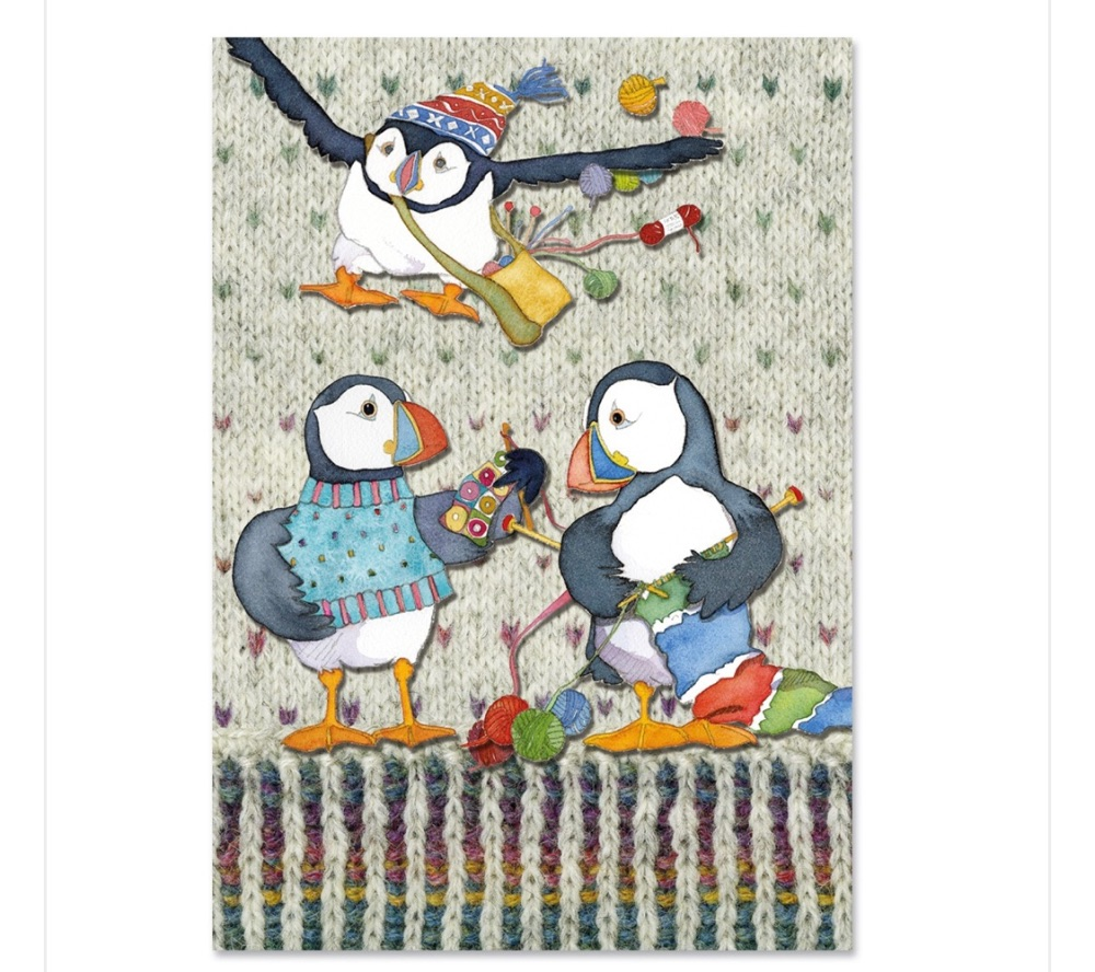 Woolly Puffins