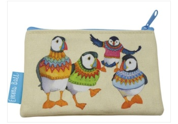 Woolly Puffins purse