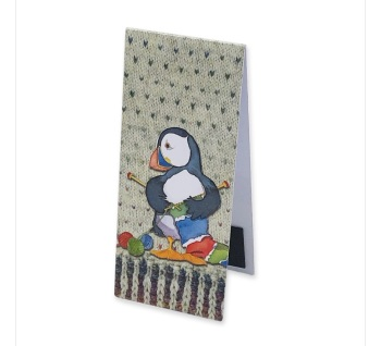 Woolly Puffins II Magnetic Bookmark