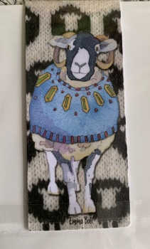 Sheep in Sweaters  Magnetic Bookmark