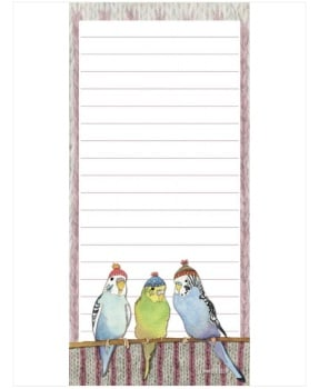 Budgies in Beanies Magnetic Pad