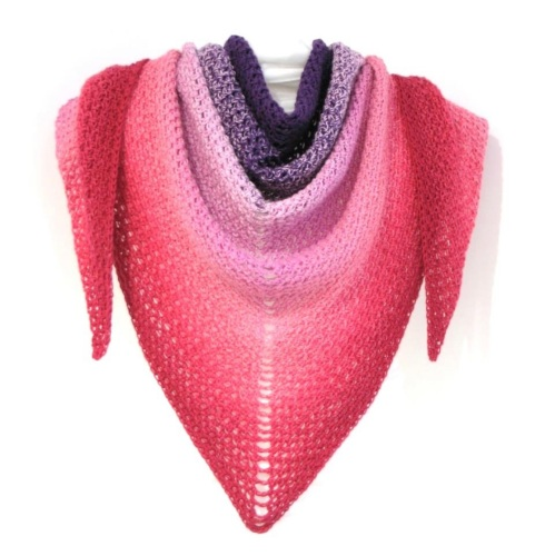 Whirly Wonderful Crochet Wrap pattern