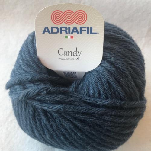 Adriafil Candy super chunky - blue/grey denim 68