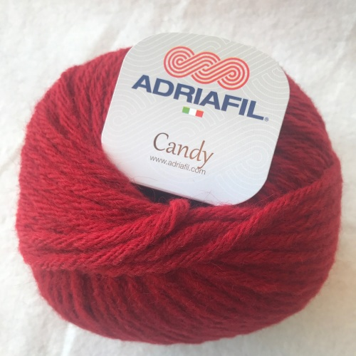 Adriafil Candy super chunky - 50 Red