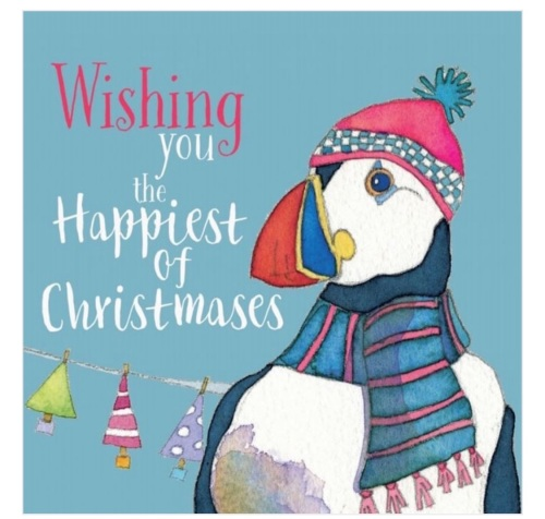 Puffin pack of 6 Christmas Cards
