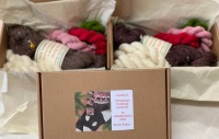 PRE-ORDER Christmas Pud Sock kit in a box!
