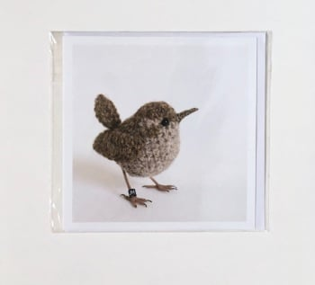 Wren greetings card by Jose Heroys