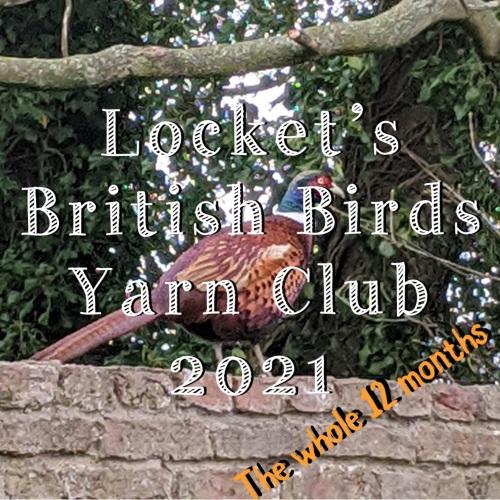 2. British Birds Yarn Club 2021 - The whole 12 months!