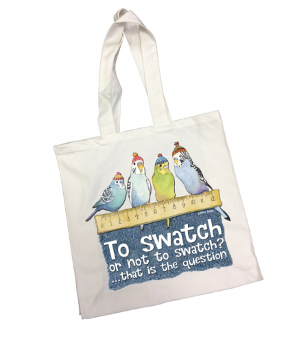 Budgie Swatch  Tote Bag