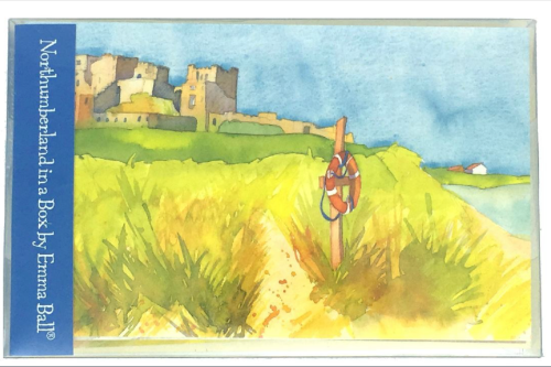 Pack of 10 Northumberland notecards