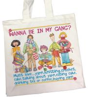 """My Gang""  Tote Bag"