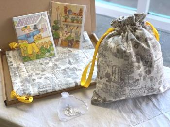 Beautiful Gardening Project Bag Gift Box