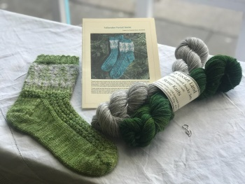 *NEW* Fallanden Forest Sock Kit - Evergreen