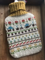 Locket's Allotment Hot Water Bottle Cover