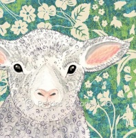*new* Easter Lamb card