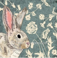 *new* Easter Rabbit card