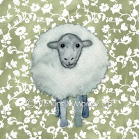 *new* Sheep card