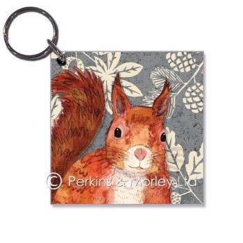 *new* Squirrel Key Ring