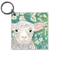 *new*  Lamb Key Ring