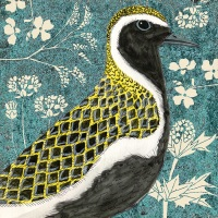 *new* Wild Wood Golden Plover card