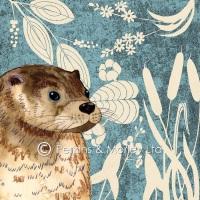 *new* Wild Wood Otter card