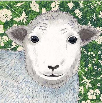 *new* Wild Wood   Herdwick Sheep card