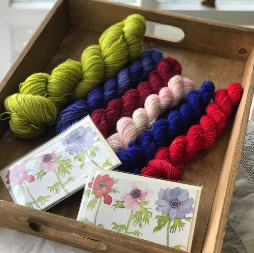 Locket's Easter Gift Box for Knitters - colour combination 2