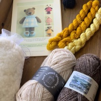 New Bear Girl Kit - yellow dress