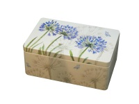 Agapanthus Rectangular Tin