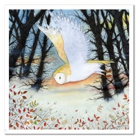 Owl card by Eric Heyman