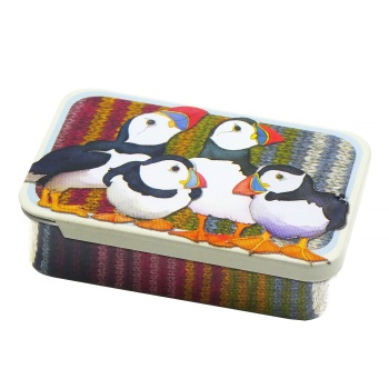 New Puffins Pocket Tin