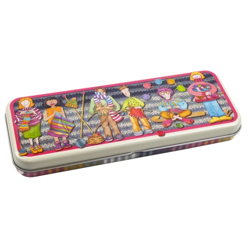 New long pencil tin - Yarn Club