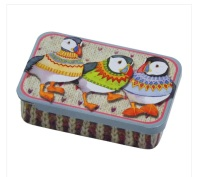 Woolly Puffins Pocket Tin
