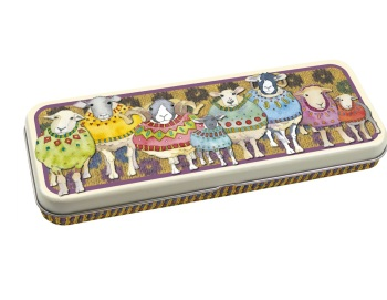 New long pencil tin - Sheep in Sweaters