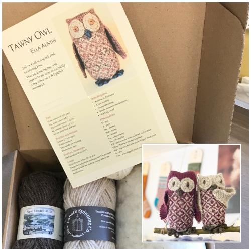 Owlbert & Owlivia - traditional tawny