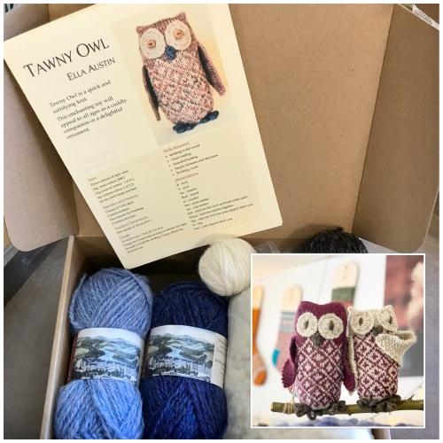 Owlbert & Owlivia - midnight owls!