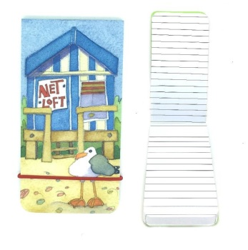 Beach Hut Slim Notebook